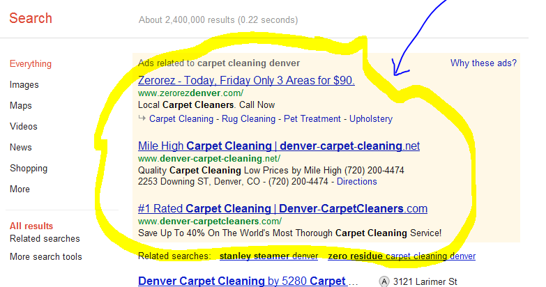 Carpet Cleaning Marketing   Blogger