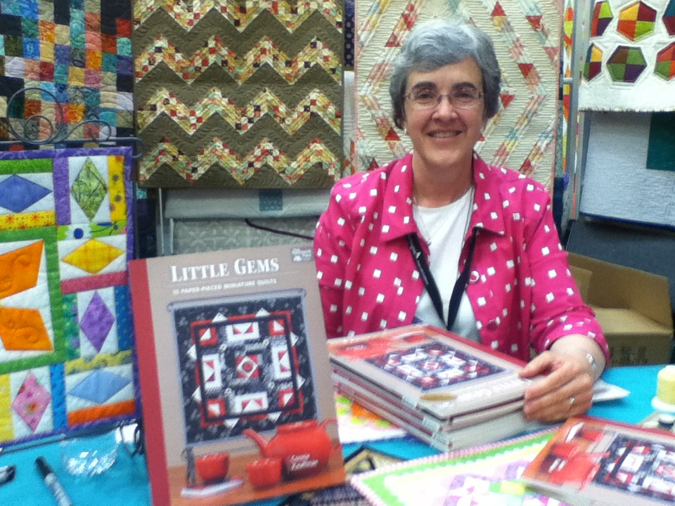 Quilt Market book signing 2015