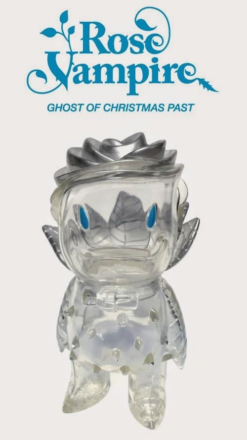 """Ghost of Christmas Past"" Rose Vampire Vinyl Figure by Josh Herbolsheimer"