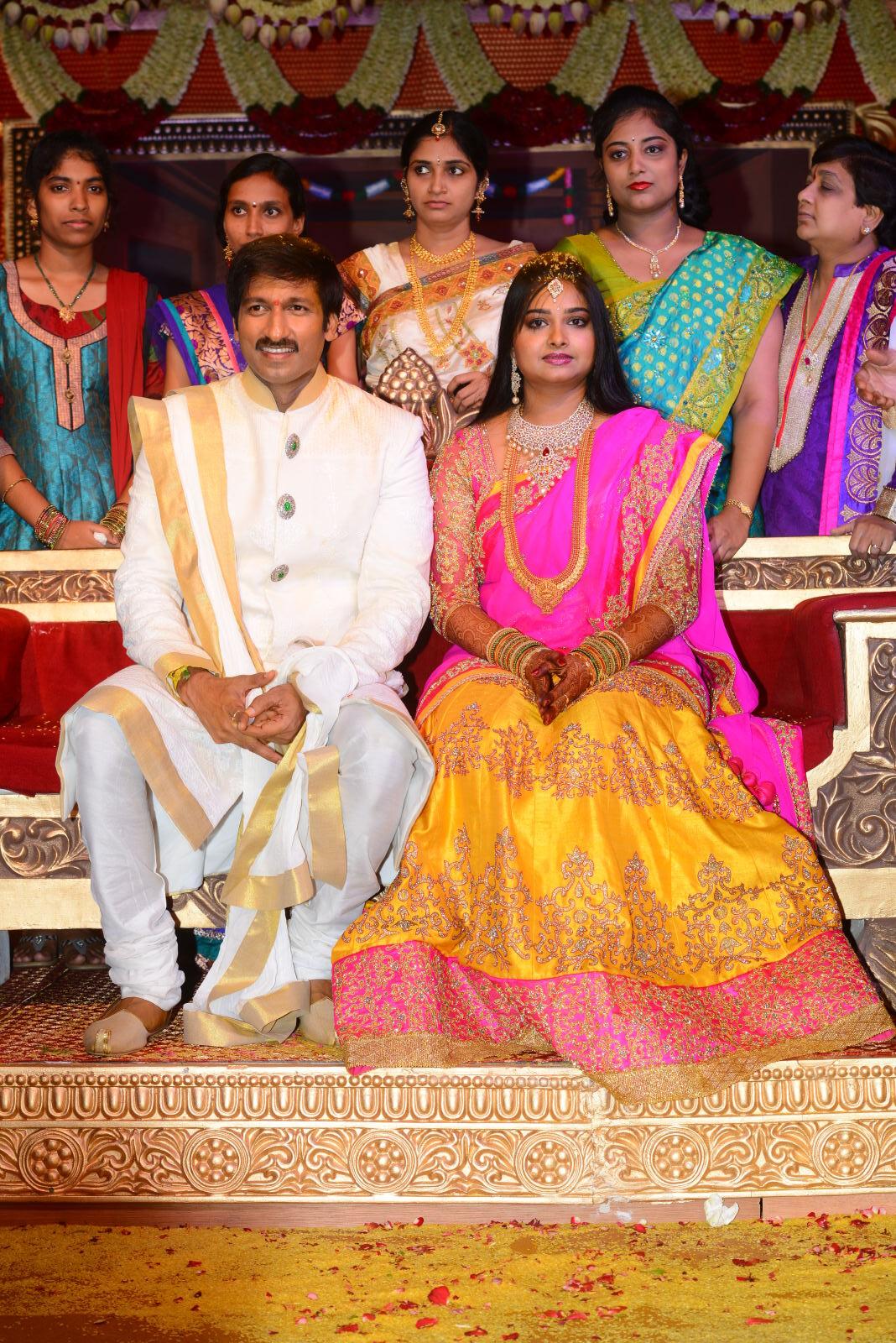 gopichand reshma marriage photos7