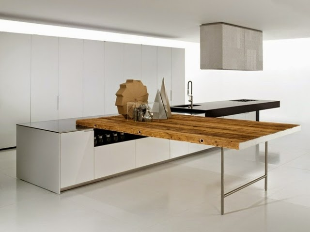 15 elegant minimalist kitchen styles with contemporary for Minimalist kitchen design