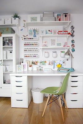 Office Inspiration That Will Make You Want to Work | Sarah Smirks | Keywords:  office inspiration, office style, desk style, work space