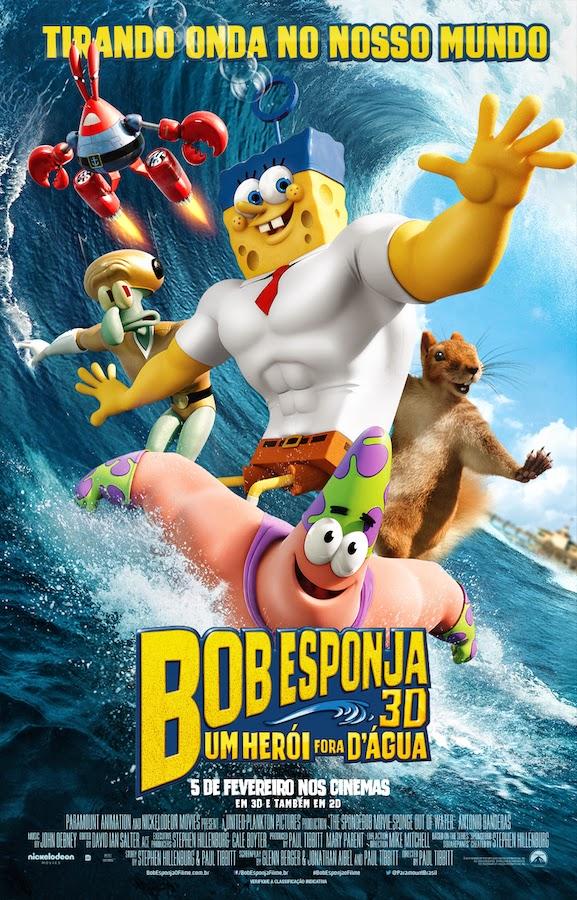 Bob Esponja: Um Herói Fora D'Água – Dublado (2015)