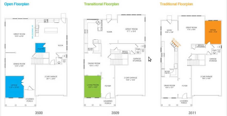 True Homes Ranch Floor Plans