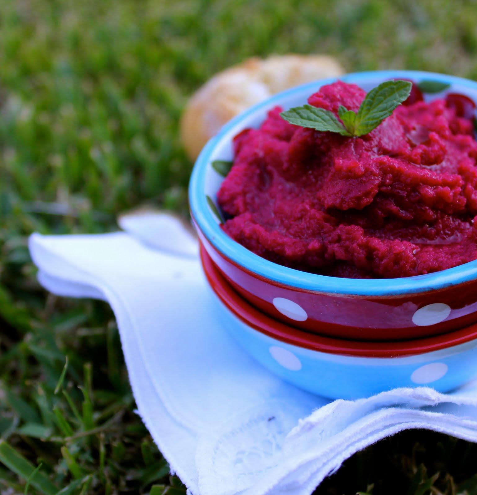 La cocina de babel humus de remolacha y garbanzos for Cocinar remolacha