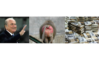 Sepp,a baboons bottom and some cash