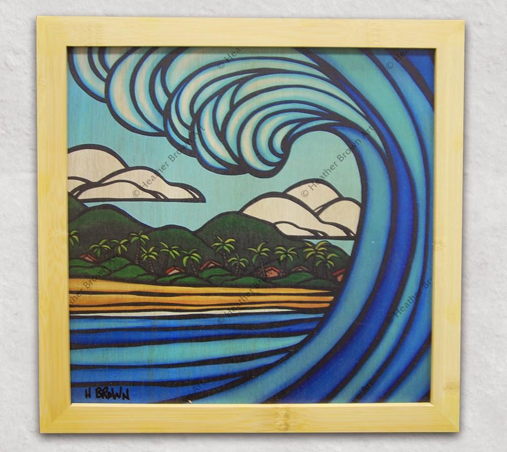 wave art hawaii