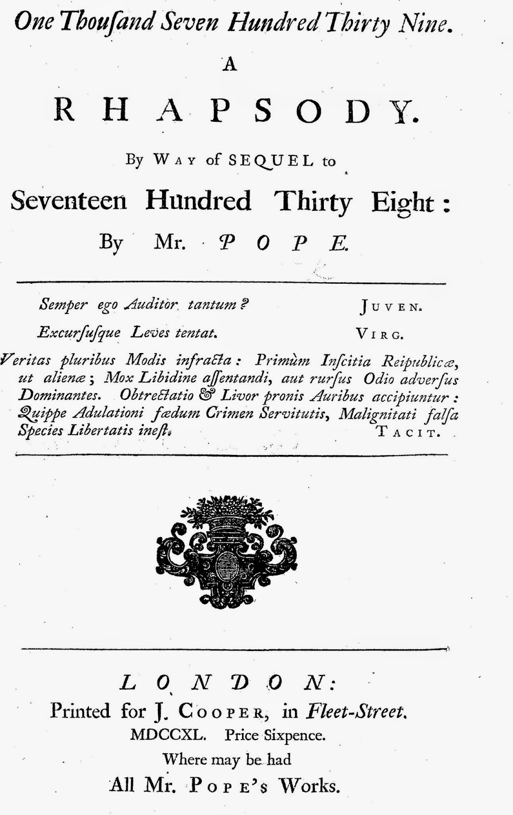 alexander pope essay on man translation An essay on man has 559 ratings and 35 reviews steve said: portrait of alexander pope (1688 – 1744) by jonathan richardson, ca 1736 know then thysel.