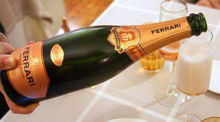 Ferrari Rose Trento Ferrari Perle Rose Trento