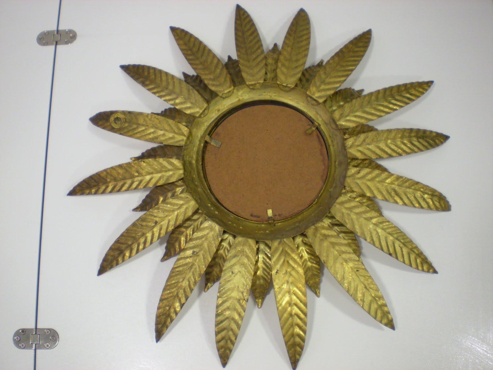 Vintager a espejo ojo de bruja oeil de sorci re en - Espejos con forma de sol ...