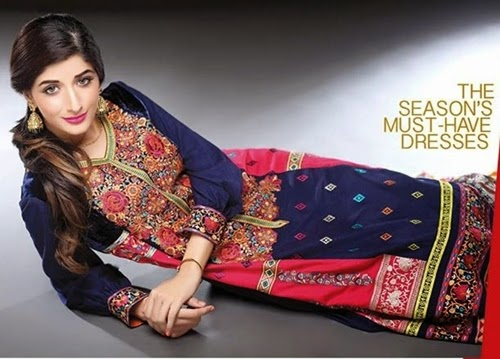 Shaista Embroidered Winter Collection 2014-2015