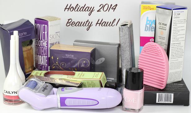 Holiday 2014 Beauty Haul Part I
