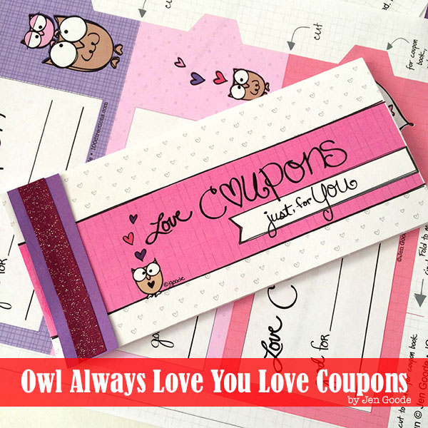 Valentine'S Coupon Book Free Printable - The Country Chic Cottage