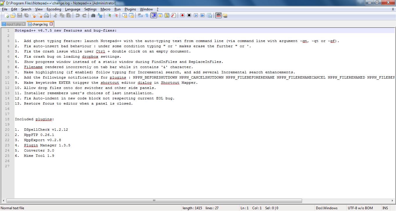 Notepad++ Terbaru 6.7.5 Free Download Text Editor Ringan