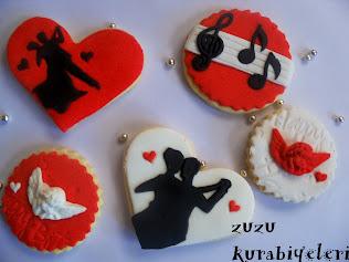Tango,müzik,dans ,nişan,kurabiyeleri....