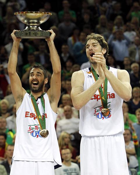 selección española de baloncesto campeona del Eurobasket 2011