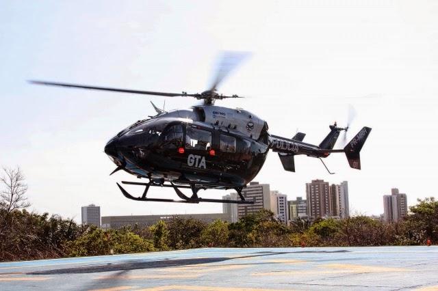 Natal: SAMU do RN vai contar com helicóptero do Maranhão durante a Copa do Mundo