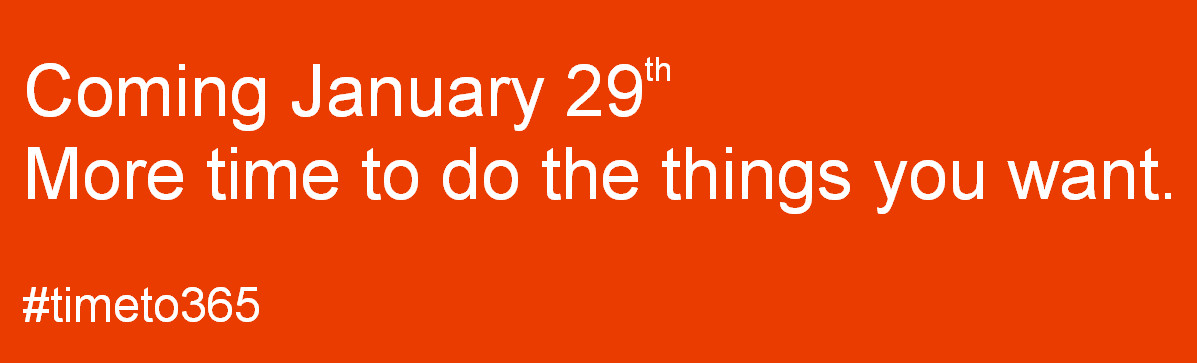 Office 2013 coming on jan29