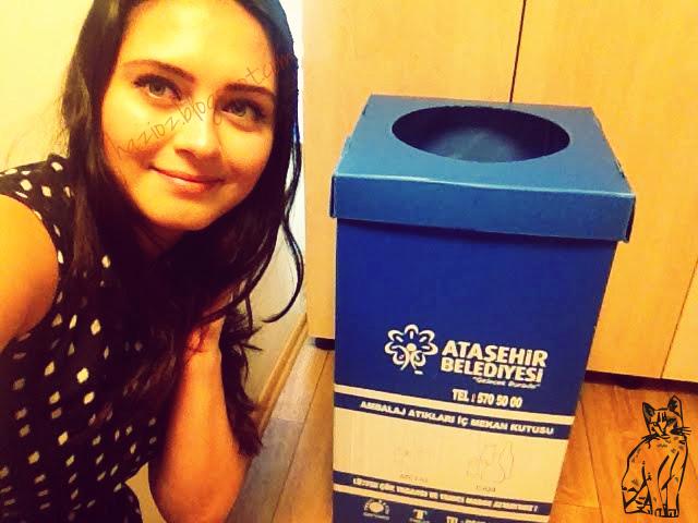 iş yerimizdeki ambalaj atıkları kutusu