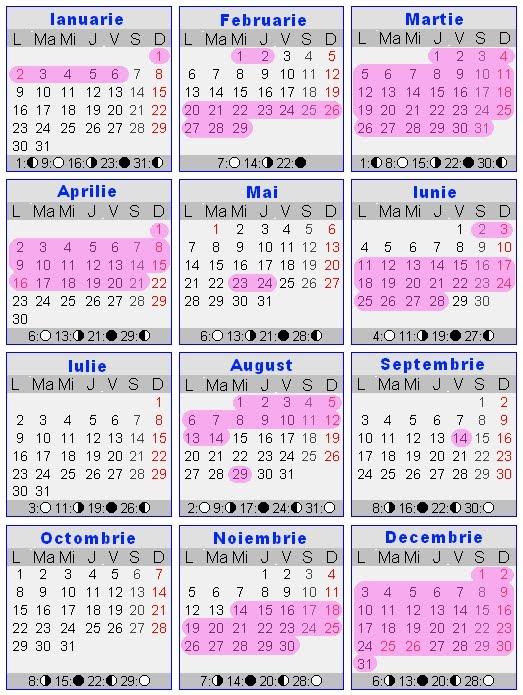 Pastele Ortodox 2016 | Calendar Template 2016