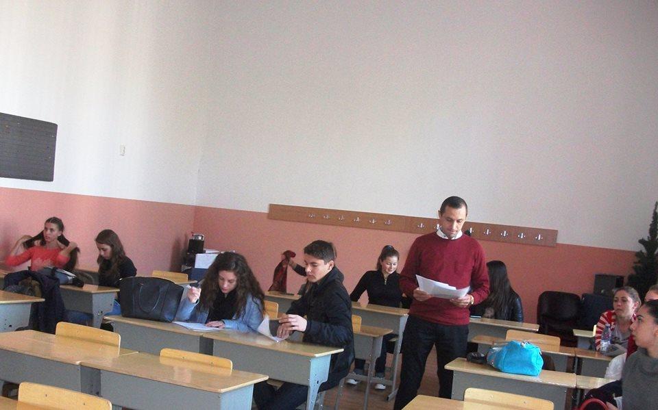 """Evaluare la CEx C. N.  """"Roman Vodă"""", 31.10.2015..."""