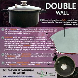 Info & Harga Twin Tulip Tulipware 2014 : Double Wall