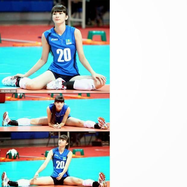 Atlet Cantik Kazakhstan Altynbekova Sabina