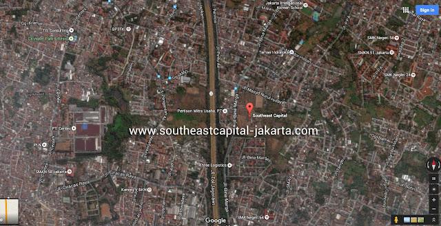Southeast Capital Jakarta Google Map