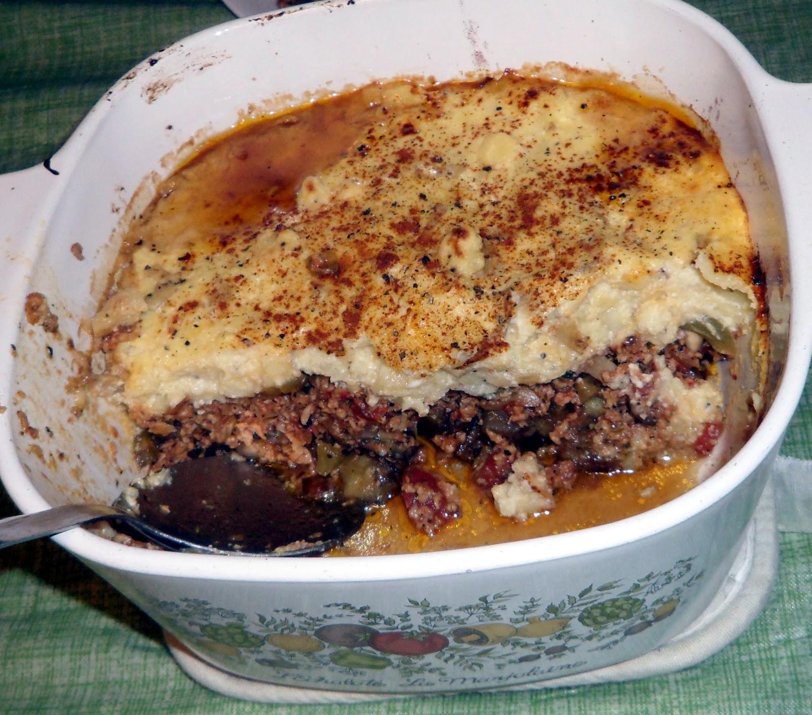 Recipes For Everyone: 2 in 1: Greek Mousaka & American Shepherd's Pie