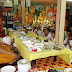 End of Buddhist Lent Ceremony October 25, 2015