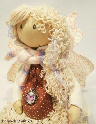 Интерьерная кукла. Фея... с секретиком