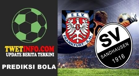 Prediksi FSV Frankfurt vs Sandhausen