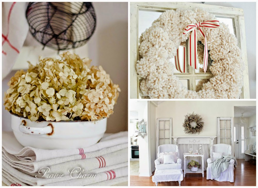 Shabbilicious Friday link party features shabby rustic chic farmhouse decor