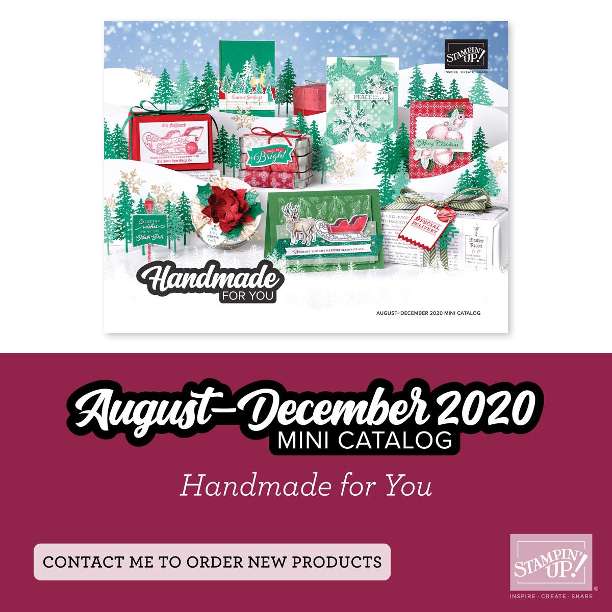 August-December Mini Catalog