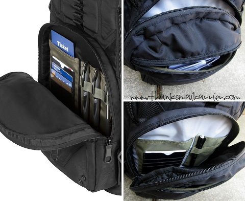 Targus accessory pockets
