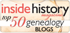 Top 50 Genealogy Blogs