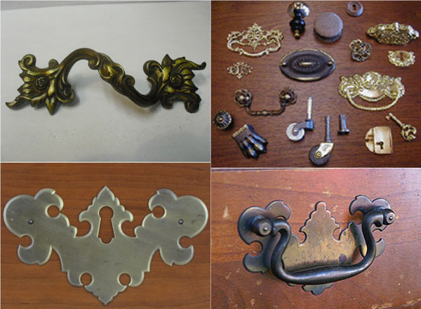 So in general the pattern were shifted from antique furniture hardware made  for small market into a standardized production ... - Flooring Doctor: Antique Furniture Hardware