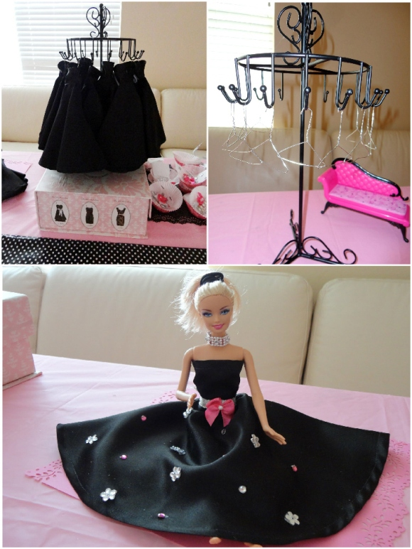 Pink Glam Barbie Birthday Party  Party Ideas  Party Printables