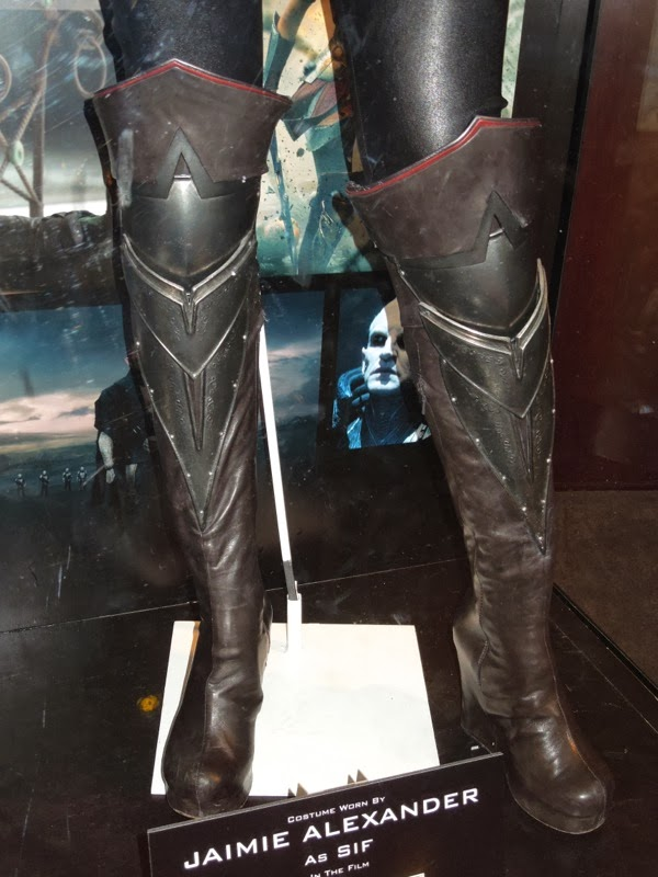 Thor Dark World Sif costume boots