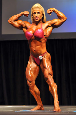 womens body building: