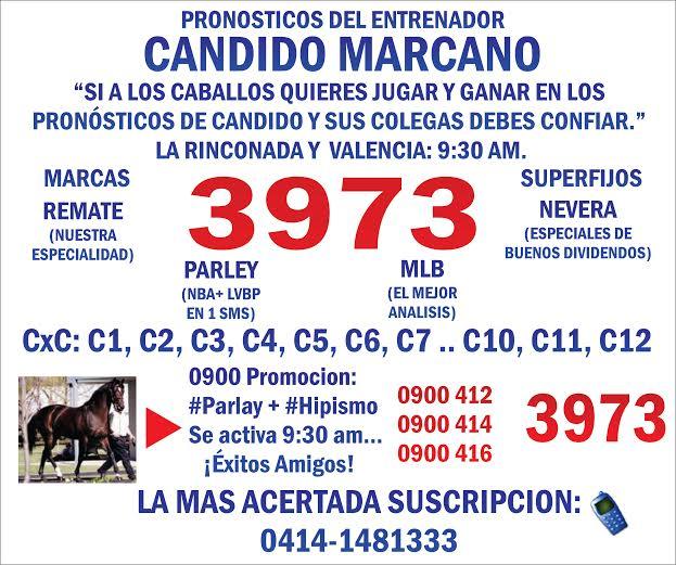 Candido Marcano.