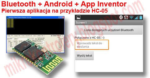 Bluetooth + Android + App Inventor + HC-05