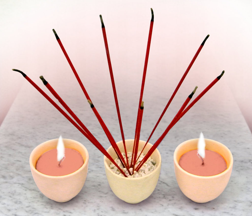 How to use incense