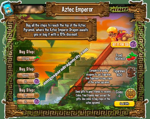 imagen de las tareas y objetos magicos del cuarto juego de la isla azteca de dragon city