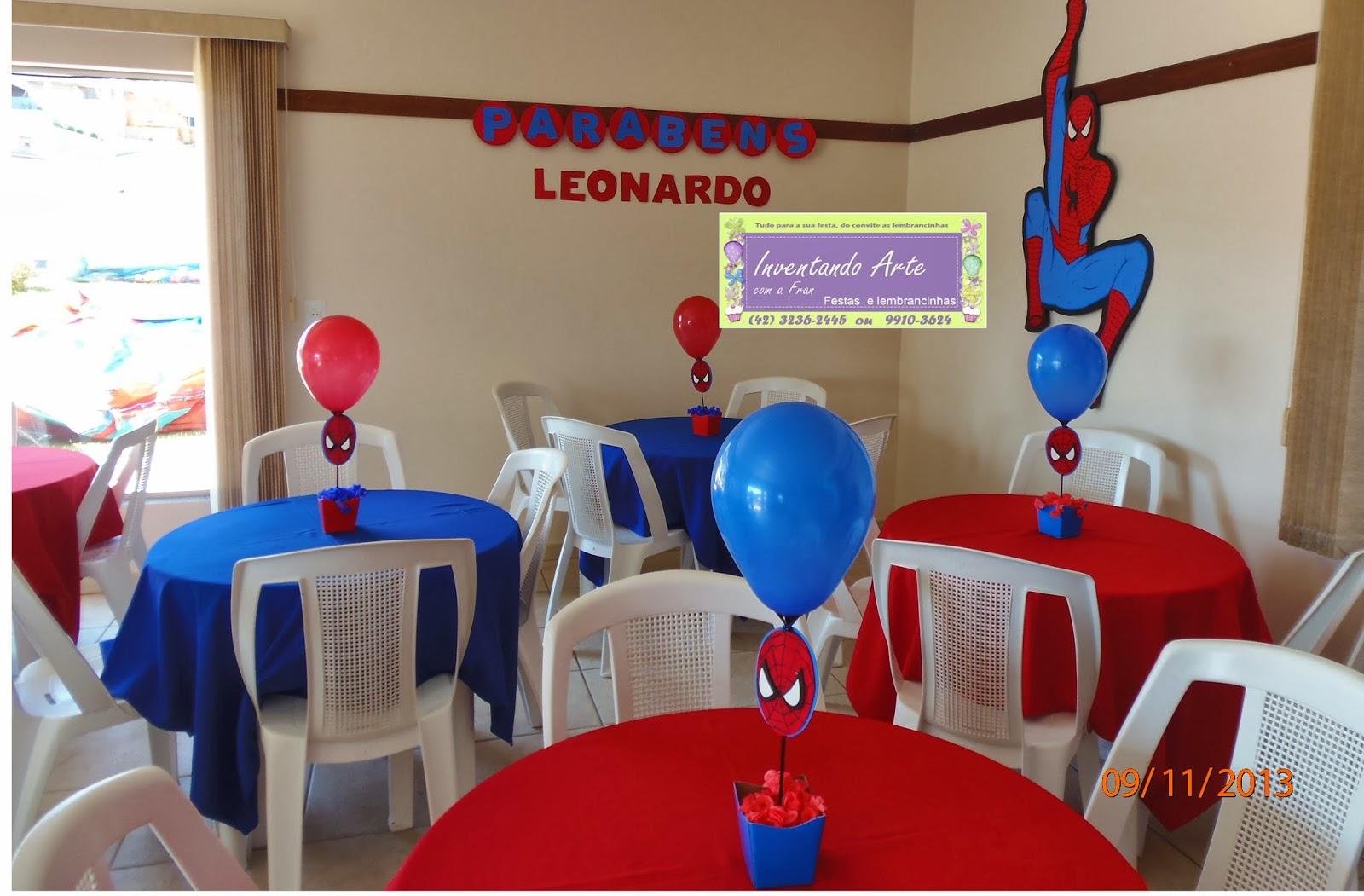 festa homem aranha : decoracao festa do homem aranha ? Doitri.com