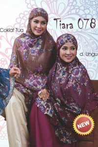 Mukena Dewasa Tatuis Tiara 078 - Coklat Tua (Toko Jilbab dan Busana Muslimah Terbaru)
