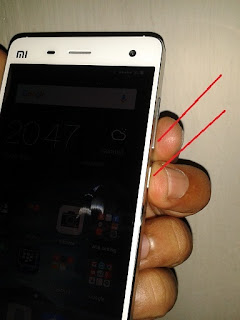 Dua Cara Mudah Screenshot Xiaomi Mi4