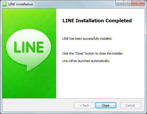Step by Step Installing LINE On PC