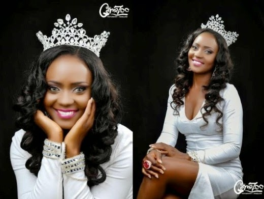 Meet Miss Nollywood Nigeria 2015, Queen Gwen Okutele