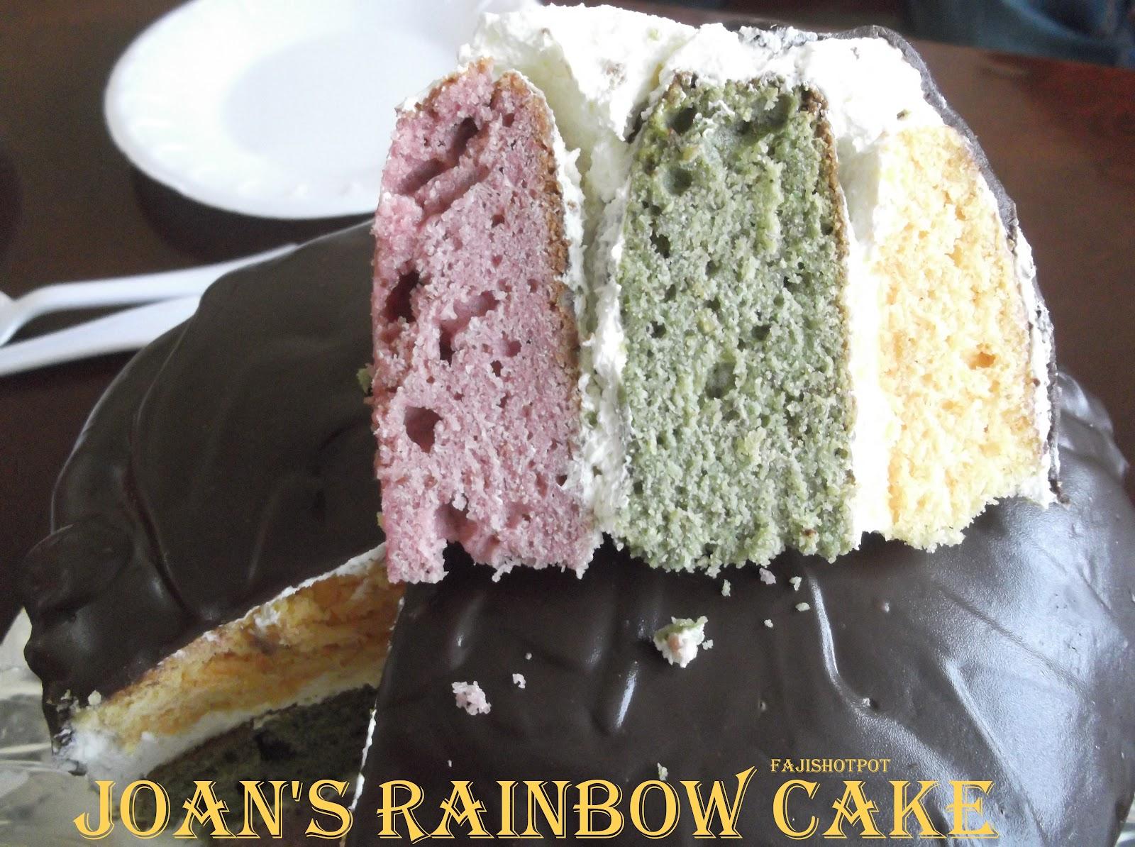 Faji S Hot Pot Joan S Rainbow Cake
